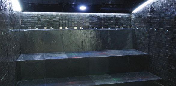 Ba o de vapor ba os de vapor cabinas circuitos spas piscinas pool jard n - Sauna finlandesa o bano turco ...