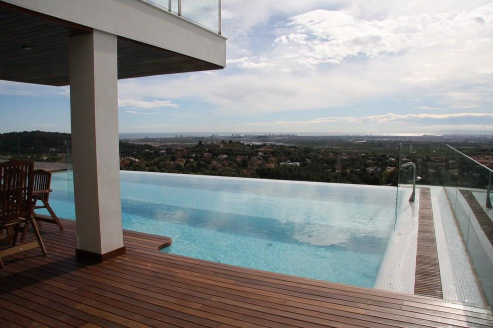 Piscina para terraza dise os arquitect nicos for Terrazas de piscinas